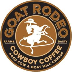 Cowboy Coffee Cheese label