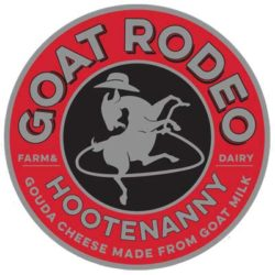 HOOTENANNY A gouda cheese made from goat milk