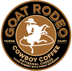 Cowboy coffee label