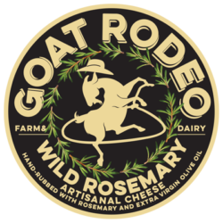Wild Rosemary Goat Cheese