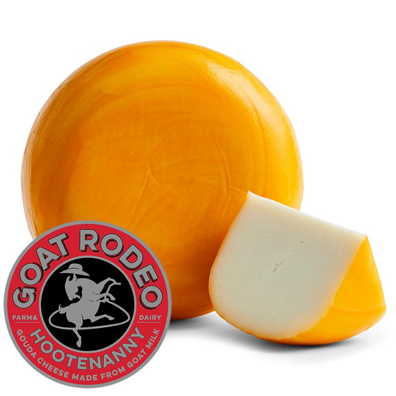 Hootenanny Gouda Goat Cheese